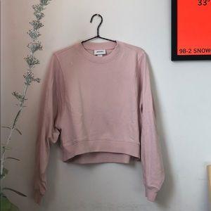 MONKI Heather Pink (Half) Sweatshirt